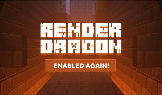 Render Dragon is working again.