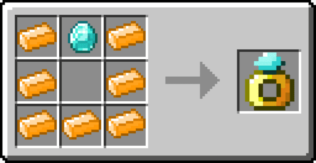 Crafting rings minecraft
