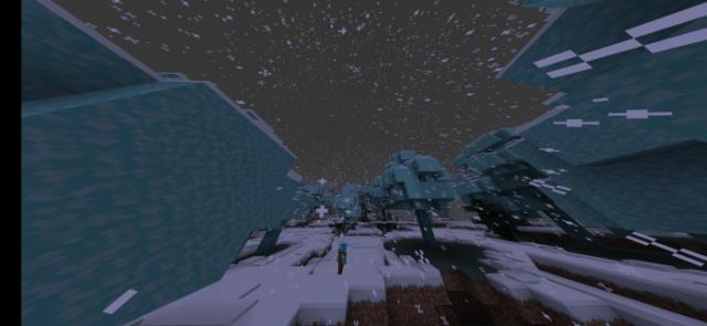 New type of snow biome