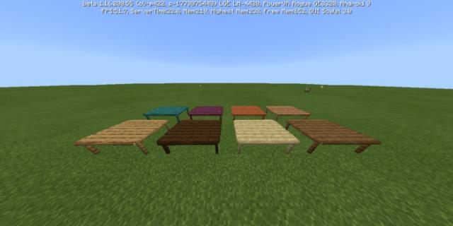 Different types of tables