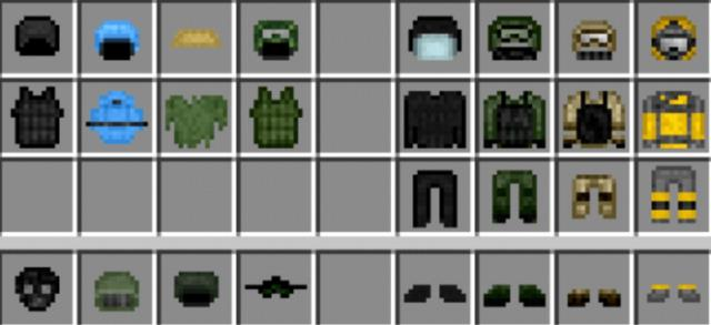 Armor and equipment