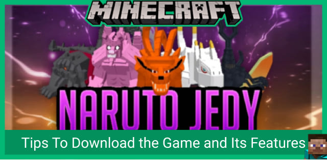 Mod Naruto Jedy for Minecraft PE